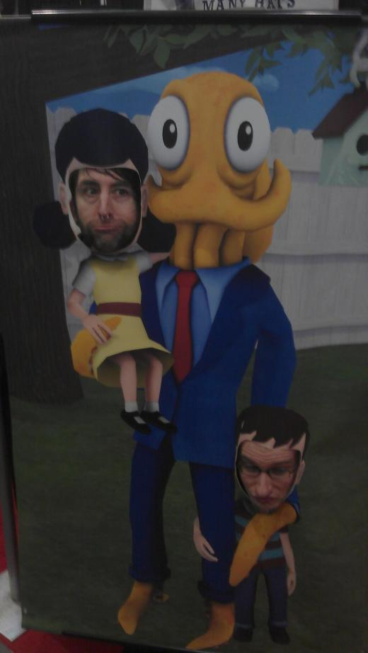 Octodad and his shitty kids